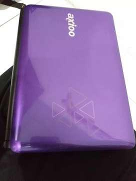 djual cpt Netbook nb Axioo sperti baru, hdd besar 500gb, speker Dolby