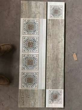 Godown flooring, parking compound tiles stone very low priced cut rate