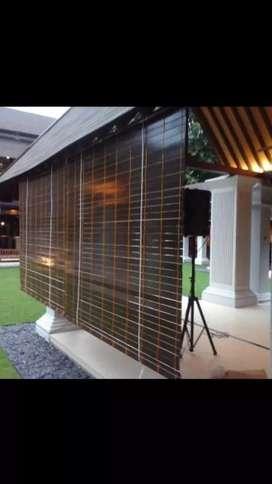 Krey kayu motif outdoor 3112