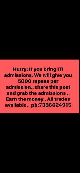 ITI SEATS Available
