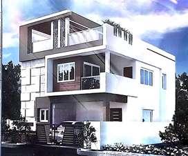 4bhk Duplex House at Kesarapalli