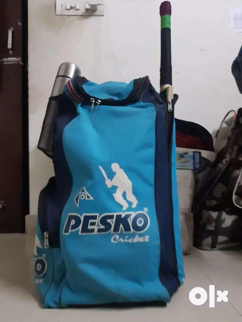 Pesko cricket Kit... 4 months old.Original price=Rs.1000 0