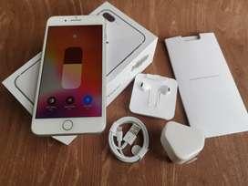 Iphone 8 plus 64gb silver mulus ori