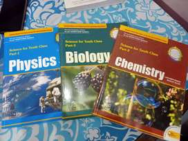 Science books class 10th
