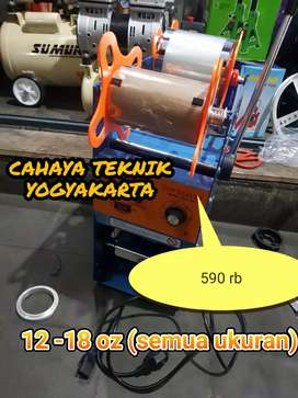 PROMO ONGKIR (CAHAYA TEKNIK) mesin press gelas cup sealer star 12-18oz