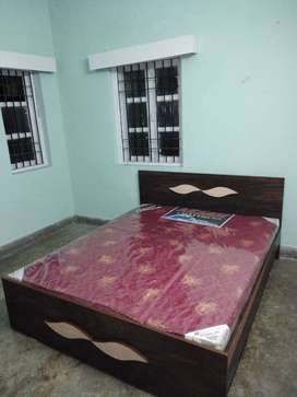 Brand new double storage bed (size:6*5) with mattress at factory price
