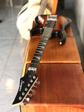Gitar Elektrik Scorpion Sunburst Updown Series