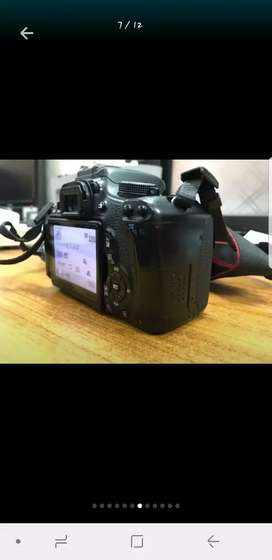 DSLR Canon 600D in Good Condition with 03 Lense