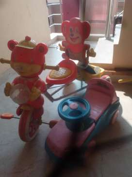KIDS CYCLE AND CAR