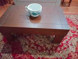 Two coffee table new and center table used
