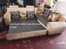 Brand new sofa cum bed with storage direct from manufacturers