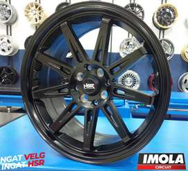 Velg mobil racing murah import china HSR wheel mobilio gresik