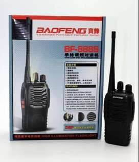2 PCS Baofeng BF-888S Walkie Talkie Handheld Talk About radio UHF 16CH