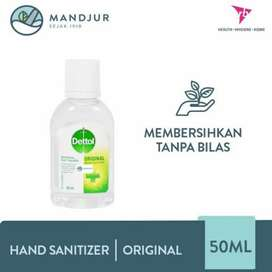 hand sanitizer dettol 50 ml original