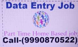 Online/offline Part time home based data entry job on MS.Word-APPLY