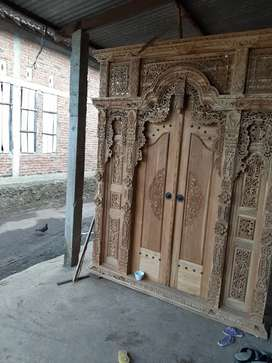 cuci gudang pintu gebyok gapuro jendela rumah masjid musholla tholib