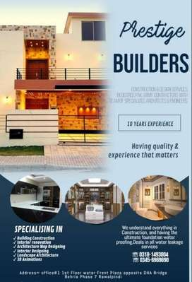 Construction And Interior Design Services