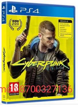 PS4 & PS5 Game Cyber Punk Available