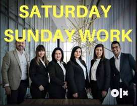 Weekend two days work - for all job seekers -golden opportunity