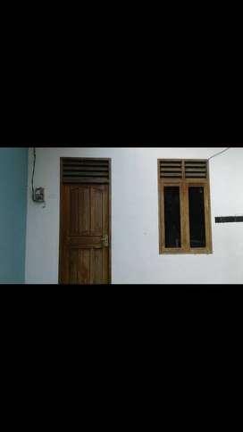 Pondok Marioga, rumah kontrakan