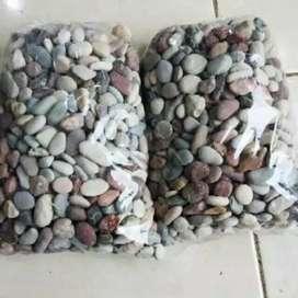 Batu alam pancawarna 1kg