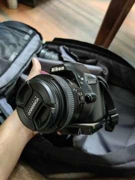 My Rarely Used Nikon D3400