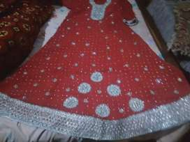 Bridal Dress only one time use A one Quality