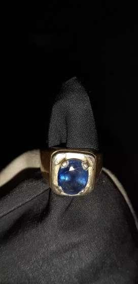 Cincin safir /sapphire ring perak
