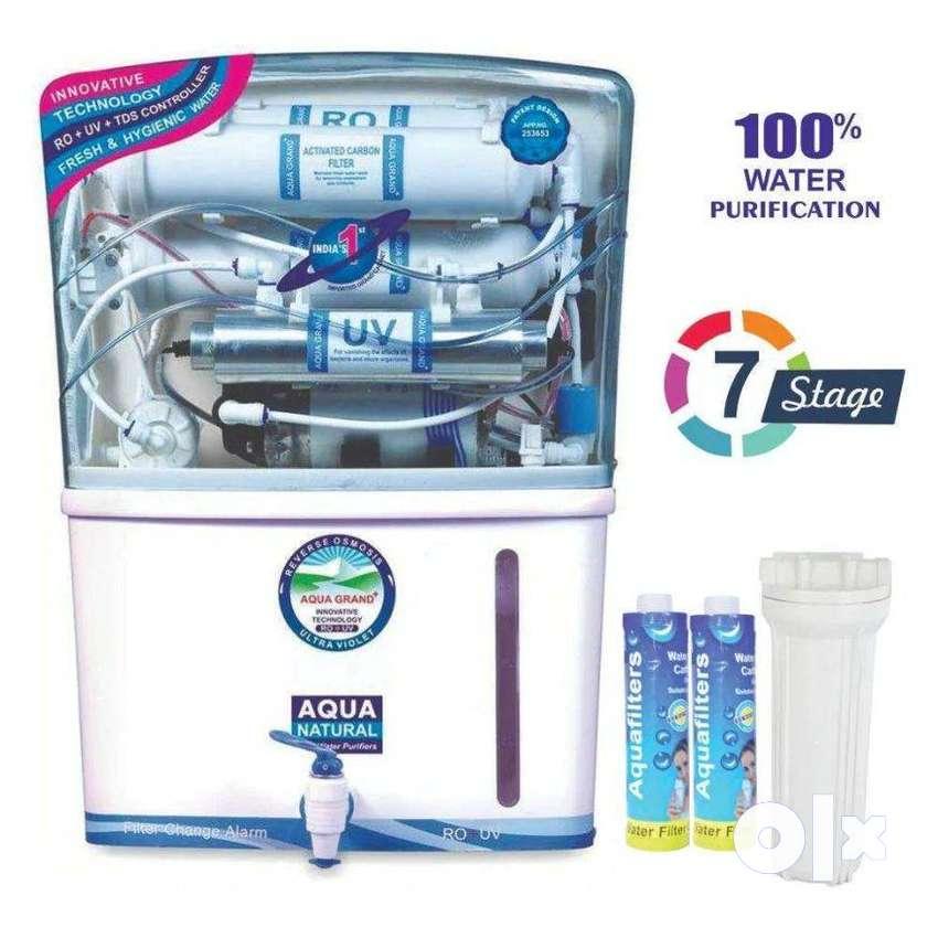 New seal pack Aquafresh RO water purifier