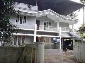 3 bhk 1300 sqft 1st floor house at aluva thottakattukara 300 mtr