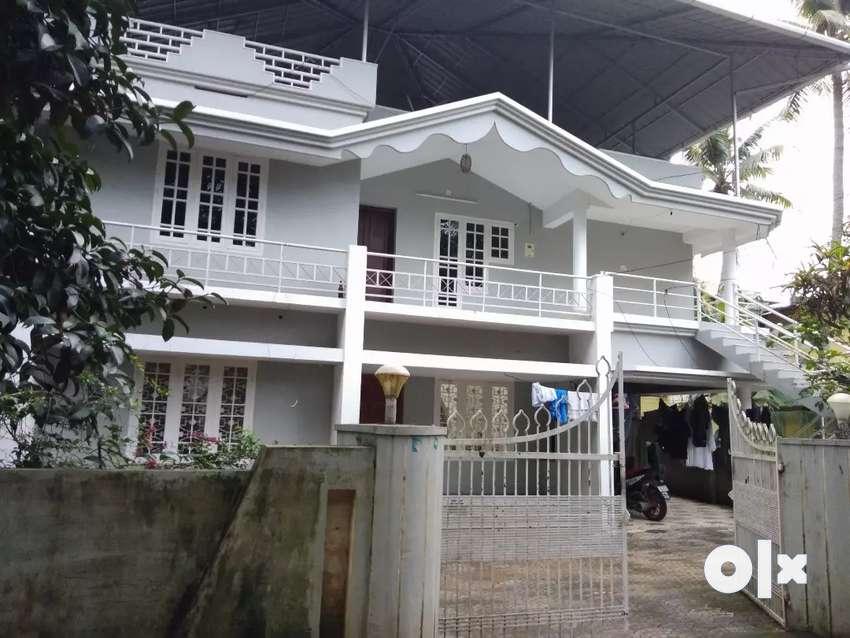 3 bhk 1300 sqft 1st floor house at aluva thottakattukara 300 mtr 0