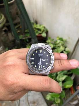 Jual jam Seiko sports diver watch quartz 7546-6030 royal oak vintage