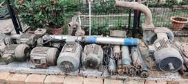 Pumps, Motors etc in scrap