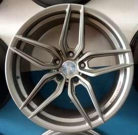 R18x8,5 h5x114.3 et40 Velg mobil bisa untuk xpander Juke HRV Camry
