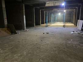 8000 sqft Basement for godown,warehouse,retail leasing on vip road