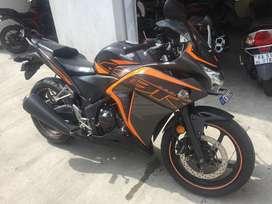 Cbr250r std matte black with orange