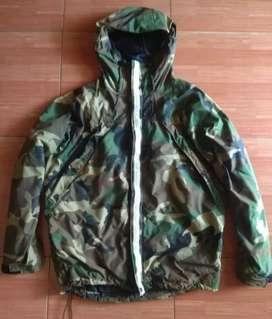 Jaket hoodie masterpiece X thrasher camouflage