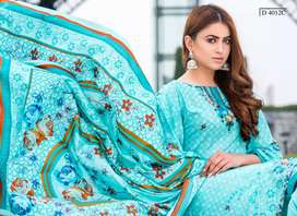 Printed Lawn Suits with Lawn Dupatta Free Nationwide Delivery