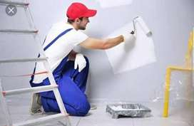 1rs sqft only House and office painting work low cost fast workers