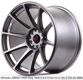 SHINJUKU JD8051 HSR R18X95/105 H10X114,3-120 ET30/22 SMG