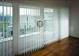 Vertical blinds/krey kayu/loller blinds custom ukuran. HG