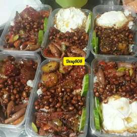 Nasi box 3 lauk sedap murah dan halal