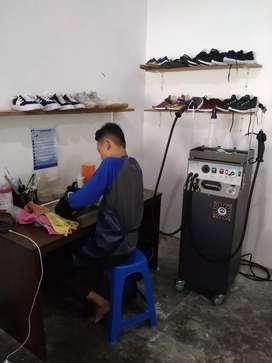 Mesin laundry sepatu