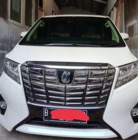 Toyota Alphard G NIK 2016 pribadi