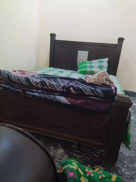 Queen size double bed for sale without mattress