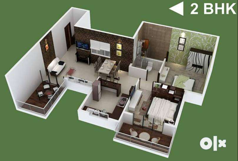 Buy2 BHK Ready to Move Flats Rs. 31.12 L, Wagholi Call for Site Visit 0