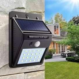 Lampu LED Terang Tenaga Surya