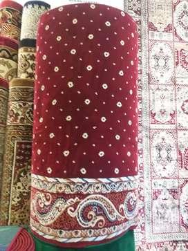 Karpet masjid premium asli Turki pasang Demak