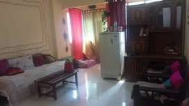 2bhk fully Furnished Flat 1 bed rm Sharing girl Require