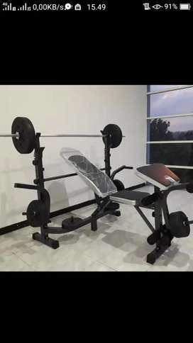 Alat fitness banch press